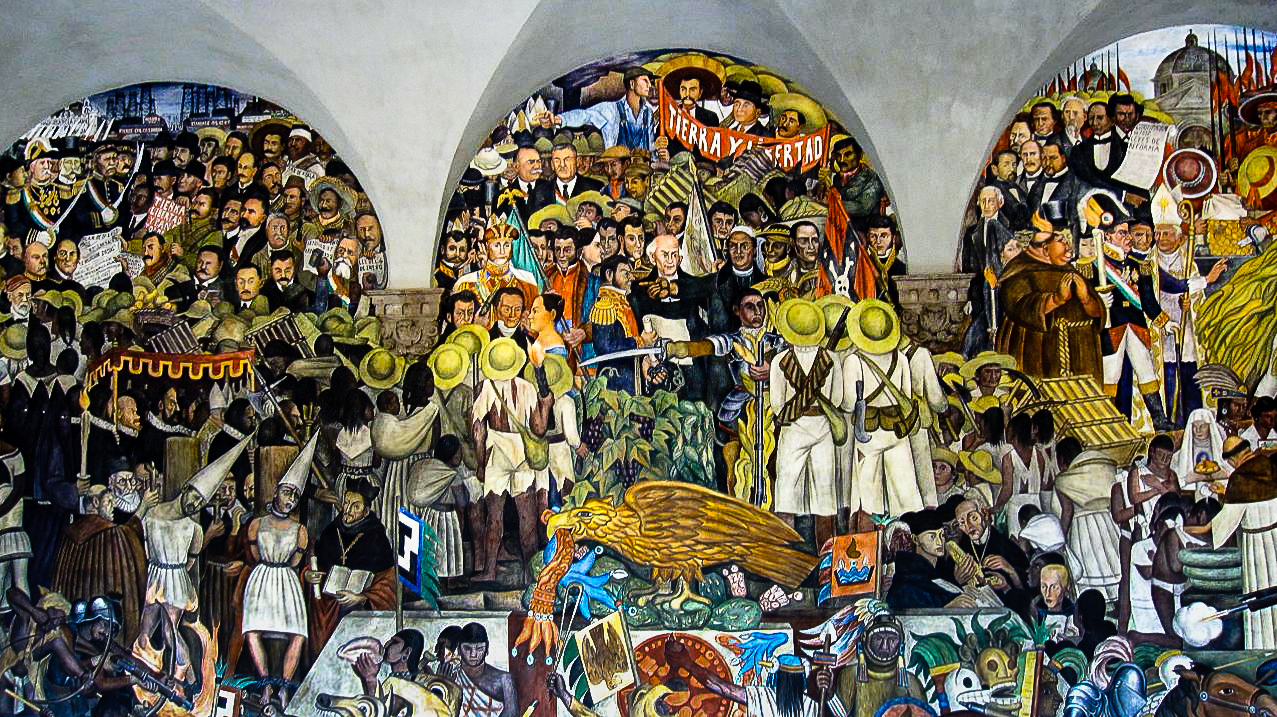 Image gallery mexico rivera for Diego rivera mural