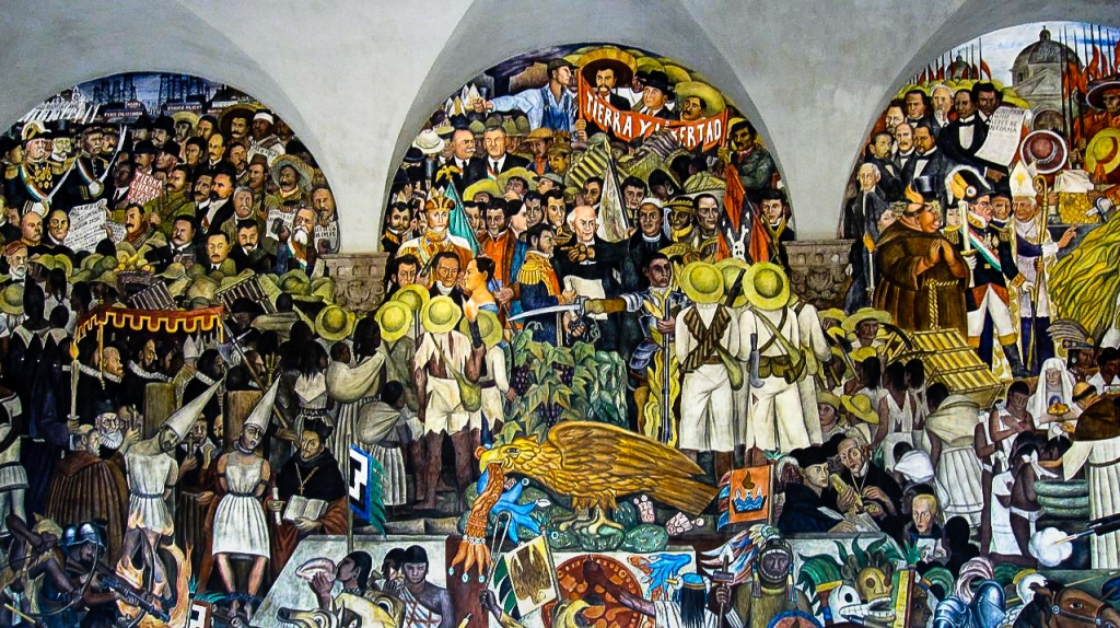 Mural by Rivera